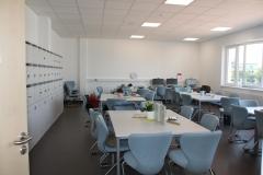 Das neue Lehrerzimmer